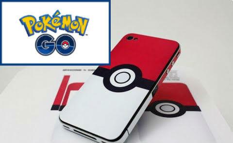 movil con pokemon go