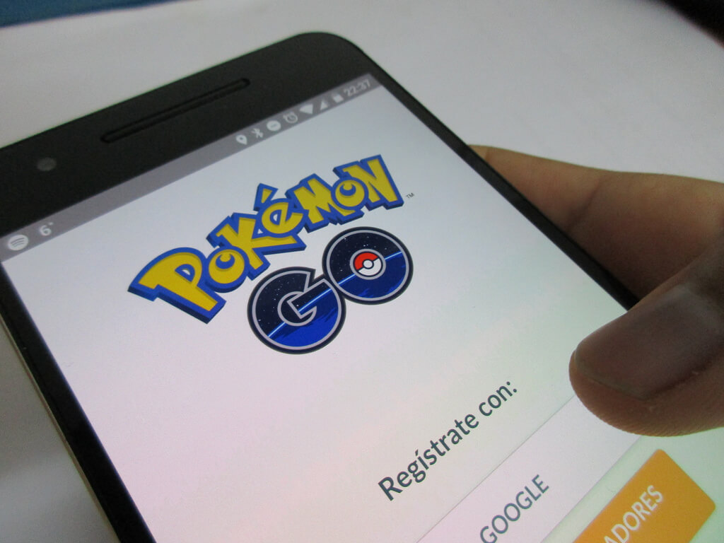 registro pokemon go